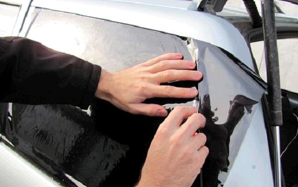 Тонировка автомобиля своими руками без проблем - Block Mitsubishi