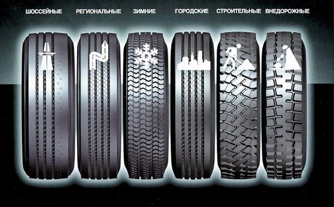 виды протектора шин