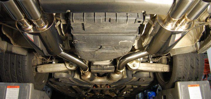 Тюнинг выхлопной системы у дизельного автомобиля (на дизеле)