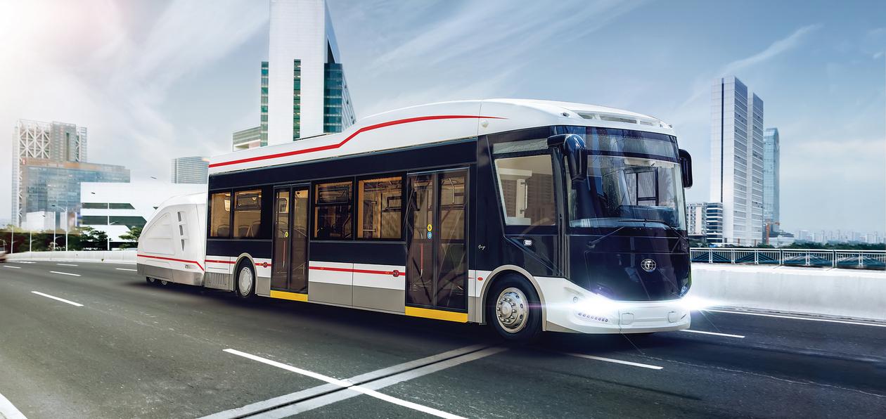 Автобусы отечественного производства на выставке Busworld Russia 2018