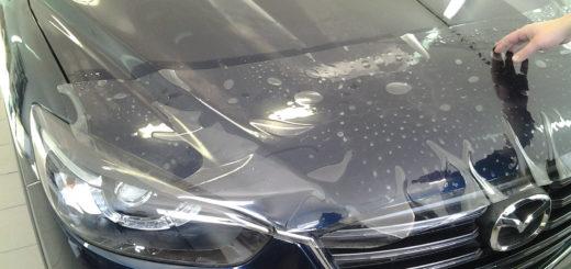бронирования автомобиля защитной пленкой