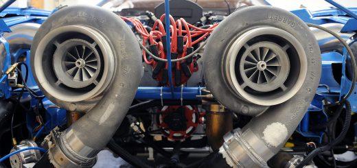 автомобилю турбина