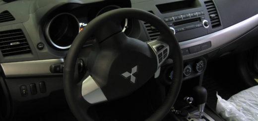 от угона Mitsubishi