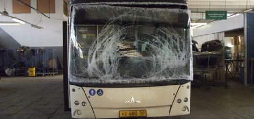Стекло автобус МАЗ